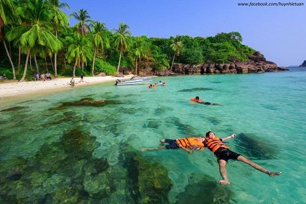 Vé máy bay đi Phú Quốc - Vẻ đẹp lãng mạn ở Hòn Móng Tay