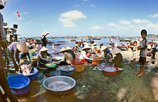 Vé máy bay đi Phú Quốc - Vẻ đẹp thanh bình ở Làng chài Gành Dầu