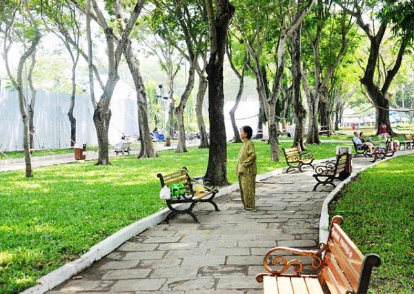 Vé máy bay đi Sài Gòn - Ngắn một Sài Gòn bình yên đến lạ