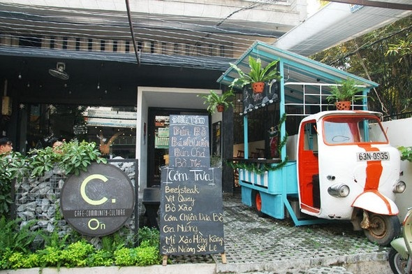 Vé máy bay đi Sài Gòn - The Morning café