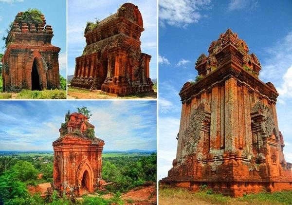 Vé máy bay đi Quy Nhơn - Tham quan tháp Chăm ở Quy Nhơn