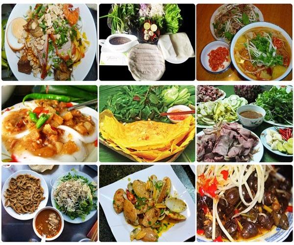 Vé máy bay đi Chu Lai - Món ngon ẩm thực Chu Lai
