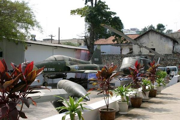 Vé máy bay đi Sài Gòn - Bảo tàng chứng tích chiến tranh