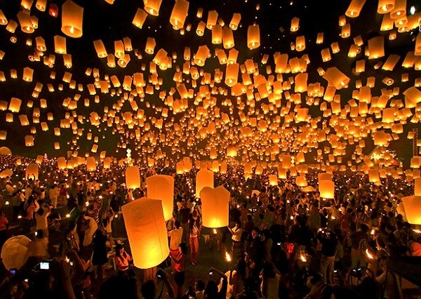 Những lễ hội bạn nên tham gia khi du lịch cùng vé máy bay di Đài Loan của Vietnam Airlines