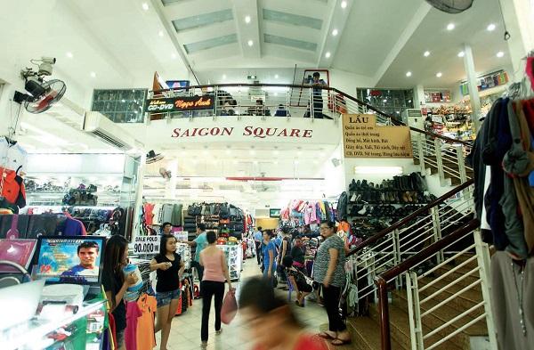 Vé máy bay đi Sài Gòn - Thiên đường mua sắm giữa lòng thành phố Saigon Square