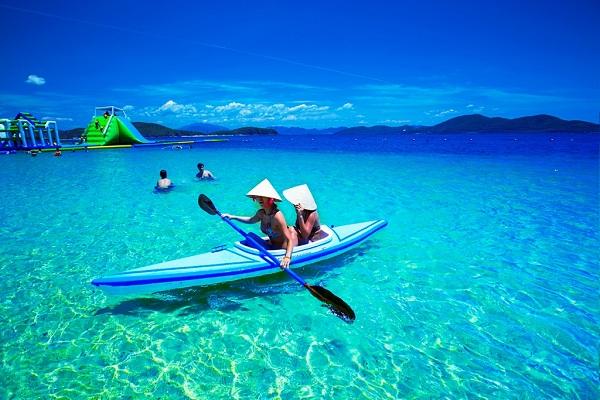 Hào hứng với sự xuất hiện của loại hình du lịch mới cực độc đáo ở biển Nha Trang