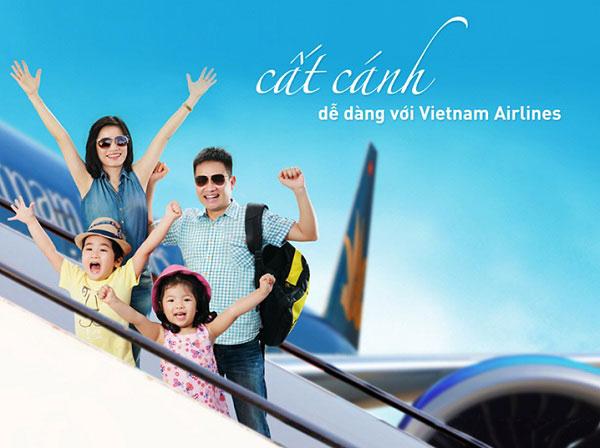 Mua vé máy bay Vietnam Airlines giá rẻ cuối năm