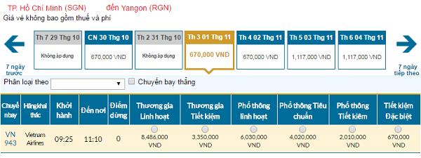 Giávé máy bay hãng Vietnam Airlines đi Campuchia mới nhất