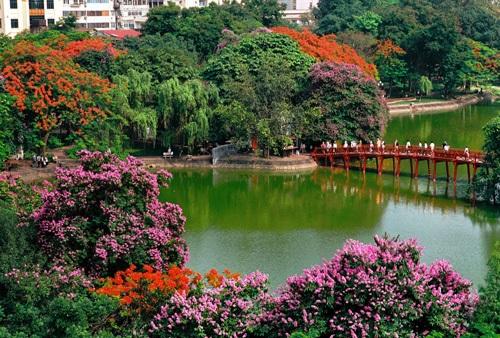 Vé máy bay đi Hà Nội - Vẻ đẹp thiên nhiên Hà Nội
