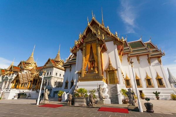 The Grand Palace ở Bangkok, Thái Lan: