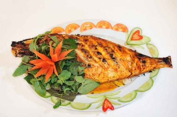 Vé máy bay đi Nha Trang - Thưởng thức vị ngon của cá bò da nướng