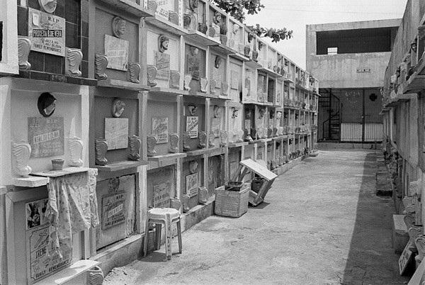 Khu nghĩa trang của người sống ở Manila