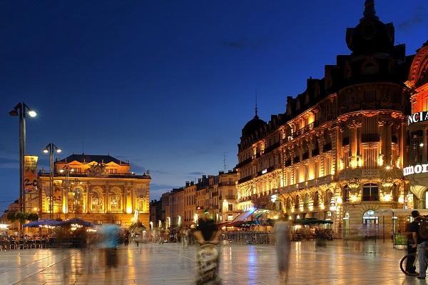 Montpellier đẹp nhất trong tôi