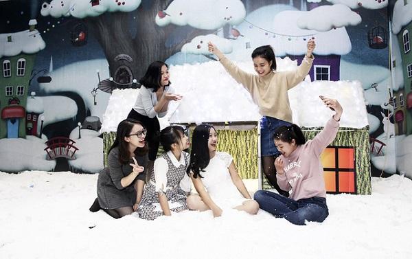 """""""thành phố tuyết""""ở Hà Nội"""