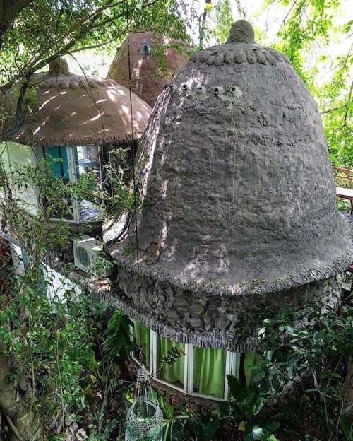 Khu homestay theo mô hình ngôi nhà cây