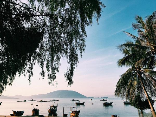 Vé máy bay đi Nha Trang - Bãi biển thơ mộng ở Điệp Sơn