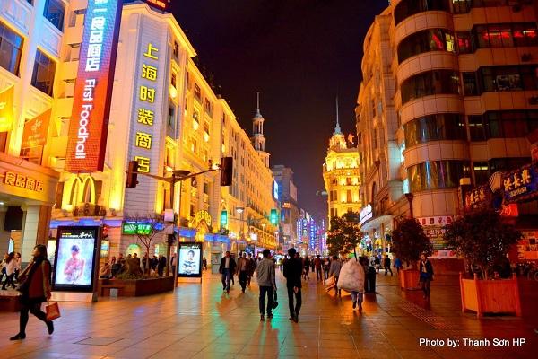 Khám phá thành phố Thượng Hải sầm uất