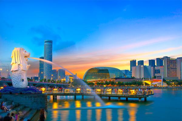 Vé máy bay đi Singapore - Vẻ đẹp Singapore vào đêm