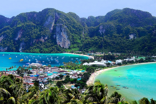 Vé máy bay đi Thái Lan - Vẻ đẹp thiên đường du lịch Thái Lan