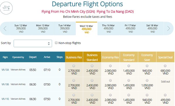 Đặt Mua Vé Máy Bay Đi Đà Nẵng Giá Rẻ – VIETNAM AIRLINES