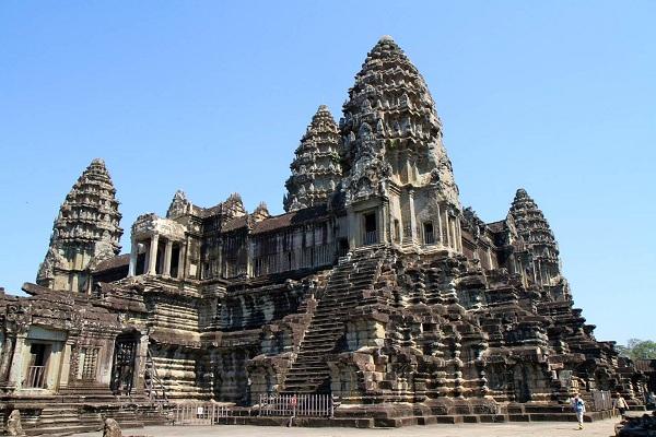 Cùng vé máy bay đi Campuchia thăm Angkor Wat