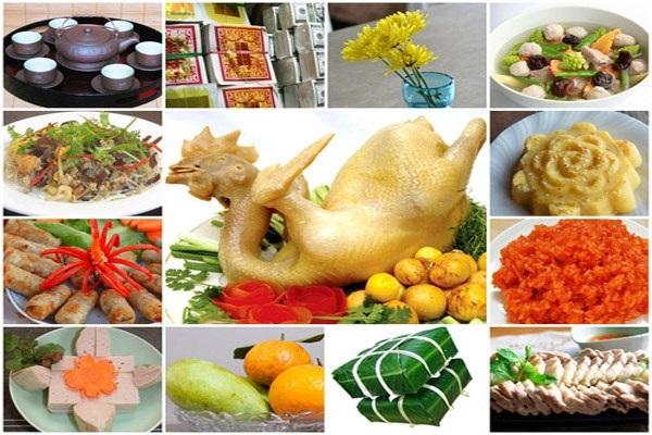 Các món đặc trưng tết Việt