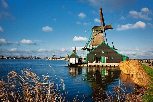 Cùng vé máy bay đi Hà Lan ngắm cảnh đẹp nơi này