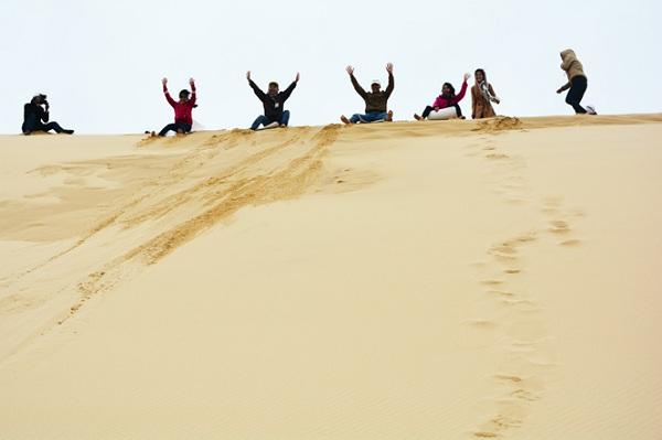 Vé máy bay đi Đồng Hới - Cồn cát Quang Phú