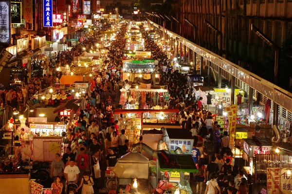 Vé máy bay đi Đài Loan - Chợ đêm ở Đài Loan