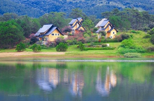 Mua vé máy bay đi Đà Lạt ngắm Hồ Tuyền Lâm