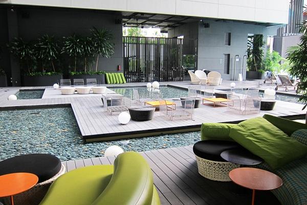 Vé máy bay đi Singapore - Khách sạn M Studio Hotel