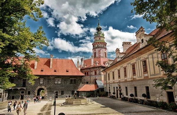 Vé máy bay đi Cộng Hòa Séc - Lâu đài Česaký Krumlov