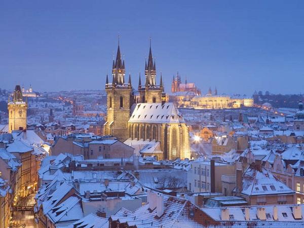 Vé máy bay đi Cộng Hòa Séc - Lâu đài Prague