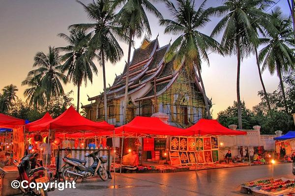 Vé máy bay đi Lào - Luang Prabang một thành phố lịch sử