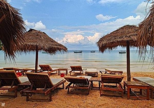 Vé máy bay đi Campuchia - Nghĩ ngơi ngắm biển ở Sihanoukville