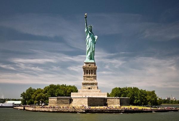 Vé máy bay đi Mỹ - Tượng Nữ Thần Tự Do, New York