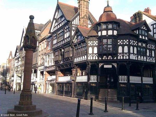 Vé máy bay đi Anh - Thành phố lịch sử Chester