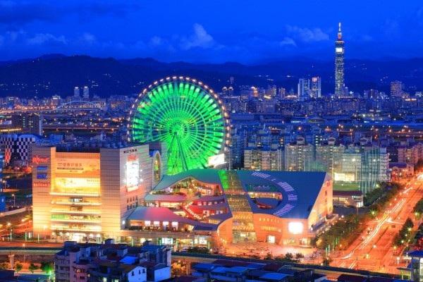 Vé máy bay đi Đài Loan - Thủ đô Đài Bắc sôi động