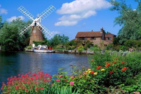 Vé máy bay đi Anh - Vẻ đẹp bình yên nước Anh