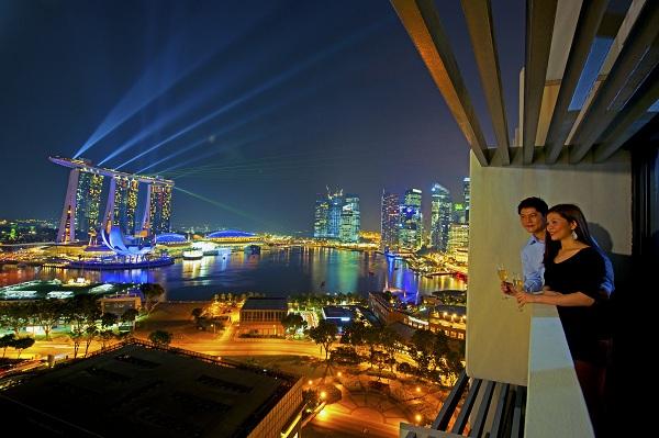 Mua vé máy bay giá rẻ đi Singapore khám phá Vịnh Marina