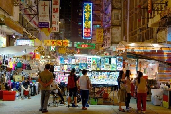Vé máy bay đi Hong Kong - Chợ đêm phố Temple More Sharing Services