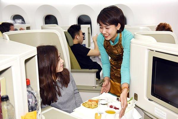 Dịch vụ bữa ăn phong phú của Vietnam Airlines