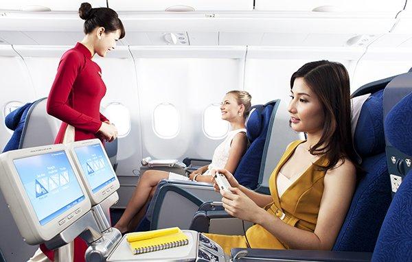 Hạng ghế thương gia của Vietnam Airlines