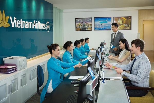 Văn phòng chính hãng Vietnam Airlines tại Thành Phố Hồ Chí Minh