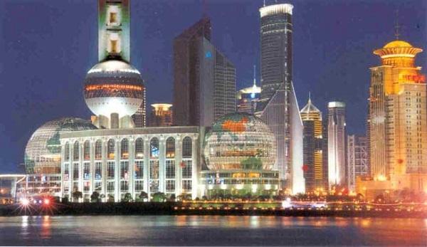 Vé máy bay đi Thượng Hải - Vẻ đẹp Thượng Hải về đêm