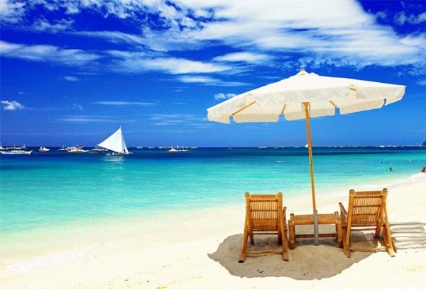 Vé máy bay đi Philippines - Những bãi cát trắng tựa pha lê trên Đảo Boracay
