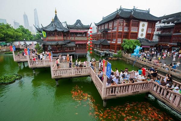 Vé máy bay đi Thượng Hải - Tham quan Dự Viên với những món quà hấp dẫn