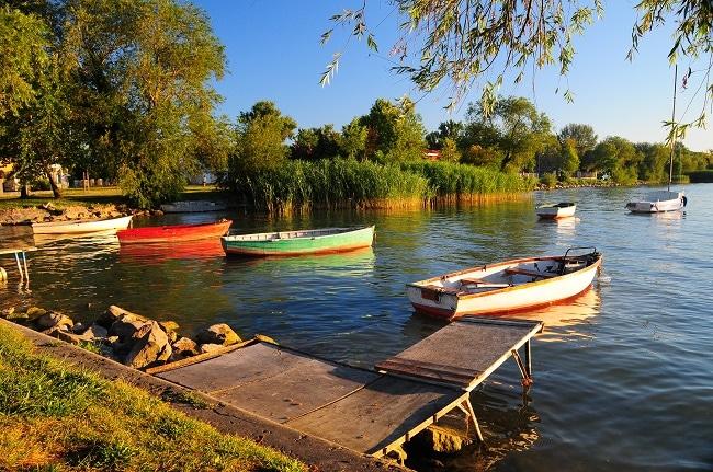 Hồ Balaton ở Hungary
