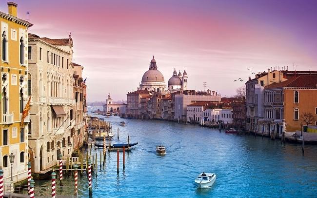 Thủ đô Venice của đất nước Ý