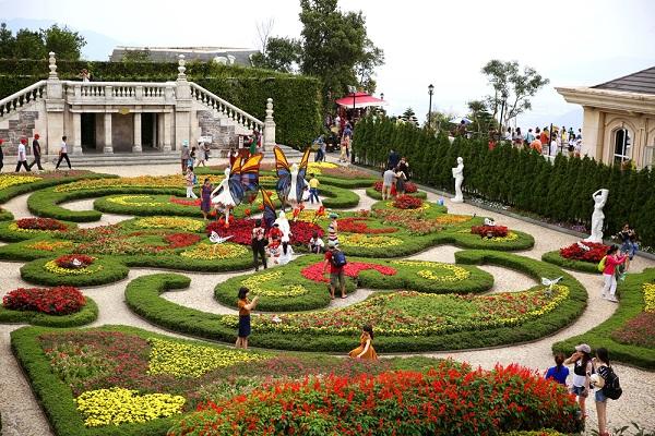 Vé máy bay đi Đà Nẵng - Vườn hoa Le Jardin d'Amour